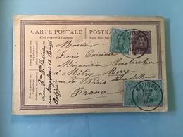 Entier Postal 1921 - BOUSSU - Stamped Stationery