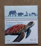 NY19-01 : Nations-Unies (New-York) / Protection De La Nature - Tortue Imbriquée (Tortue à écailles Ou à Bec De Faucon) - Unused Stamps