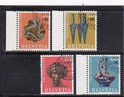 Schweiz, Nr. 1053/56, Gest. (T 17813) - Usati