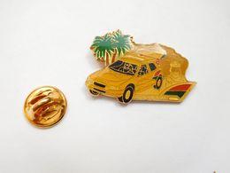 Beau Pin's , Auto Citroën , Rallye Paris - Dakar , CE Aulnay , Total , Tabac Camel , Pneu Michelin , Signé EMC - Citroën