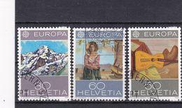 Schweiz, Nr. 1050/52, Gest. (T 17814) - Usati