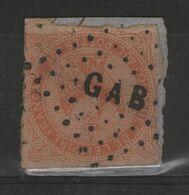 Colonies Générales N°5 Oblitéré GAB S/petit Frag. - Eagle And Crown