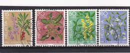 Schweiz, Nr. 1042/45, Gest. (T 17815) - Usati
