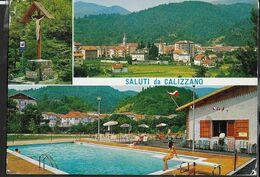 SALUTI DA CALIZZANO - VIAGGIATA DA CALIZZANO (SV) 1970 - Gruss Aus.../ Grüsse Aus...