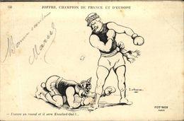JOFFRE  Champion De France Et D' Europe - Humor