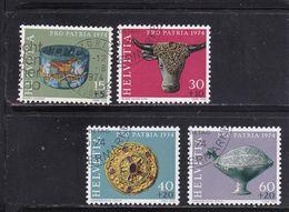 Schweiz, Nr. 1031/34, Gest. (T 17817) - Usati