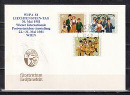 206R * LIECHTENSTEIN 754/6 * WIPA 81 * MICHEL 2,20  **! - Liechtenstein