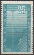 DDR RDA ALLEMAGNE DEMOCRATIQUE 328 ** Année Géophysique Bateau Océanographique (CV 3 €) - [6] Democratic Republic