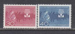 Finland 1960 - Annee Mondiale Du Refugie, Mi-Nr. 517/18, MNH** - Finland