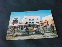 LA PLACE DU CAFE' HOUMT SOUK  TUNISIA - Cafes
