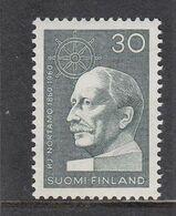 Finland 1960 - Hjalmar Nortamo, Mi-Nr. 520, MNH** - Finland