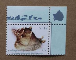 NY19-01 : Nations-Unies (New-York) / Protection De La Nature - Strombus Gigas (strombe Géant Ou Lambi) - Unused Stamps