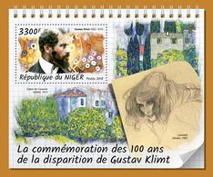 NIGER 2018 - Gustav Klimt - Mi B863 - Modernos