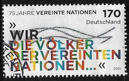 2020  75 Jahre Vereinte Nationen - Used Stamps