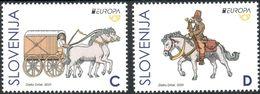 Slovenia 2020 - EUROPA CEPT (MNH) - Slovénie