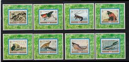 Manama, Art, Painting, Japanese Art, Fauna, Fishes, DELUXE SHEETS, MNH** - Arts
