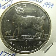 Isle Of Man 1 Crown 1994 - Monnaies Régionales