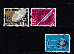Schweiz, Nr. 988/90, Gest. (T 17822) - Usati
