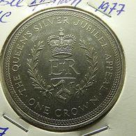 Isle Of Man 1 Crown 1977 - Monnaies Régionales