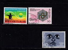 Schweiz, Nr. 1000/02, Gest. (T 17823) - Usati