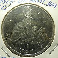 Isle Of Man 1 Crown 2014 - Monnaies Régionales