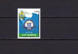 San Marino 2004 Football Soccer World Cup, FIFA Centenary Stamp MNH - World Cup