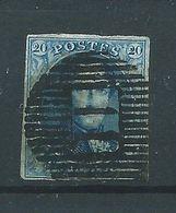 N°11 OBLITERE D II - 1858-1862 Medallions (9/12)