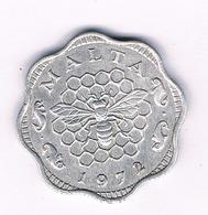 3 MILS 1972  MALTA  /6271/ - Malta