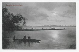 COLOMBO By Moonlight - Plate 385 - Sri Lanka (Ceylon)