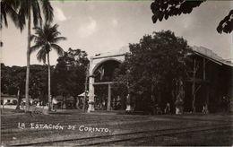 !  Alte Fotokarte, La Estacion De Corinto, Bahnhof, Railway Station, La Gare, Nicaragua, Photo - Estaciones Sin Trenes