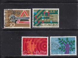 Schweiz, Nr. 964/67, Gest. (T 17829) - Usati