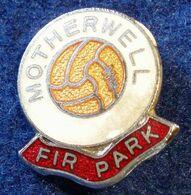 MOTHERWELL, SCOTTISH FOOTBALL CLUB , ENAMELED PIN BADGE - Fútbol