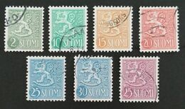 FINLANDIA 1954/1959 - Finland
