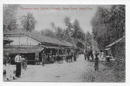 COLOMBO - Street Scene, Grand Pass - Sri Lanka (Ceylon)