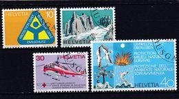 Schweiz, Nr. 975/78, Gest. (T 17832) - Usati
