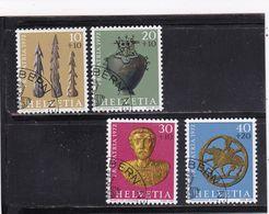 Schweiz, Nr. 971/74, Gest. (T 17833) - Usati