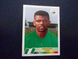 PANINI Football FRANCE 98 N°258 Nwankwo Kanu Nigéria Nigeria - Französische Ausgabe
