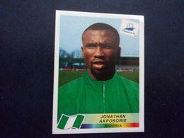 PANINI Football FRANCE 98 N°261 Jonathan Akpoborie Nigéria Nigeria - Französische Ausgabe