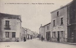 44-LA CHAPELLE HEULIN CAFE PINEAU - Francia