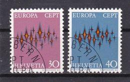 Schweiz, Nr. 969/70, Gest. (T 17834) - Usati