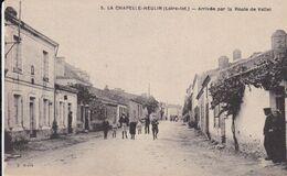 44-LA CHAPELLE HEULIN ARRIVEE PAR LA ROUTE DE VALLET - Francia