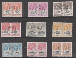 Tristan Da Cunha, EIIR, Decimal Currency Definitives , 1/2c - 10c, Pairs. C.d.s Used TRISTAN DA CUNHA 15 AP61B - Tristan Da Cunha