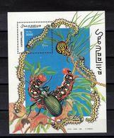 SOMALIE  Timbre Neuf **  De 1999  ( Ref 7021 ) Animaux - Insectes - Chenilles - Somalia (1960-...)
