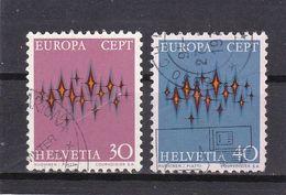 Schweiz, Nr. 969/70, Gest. (T 17835) - Usati
