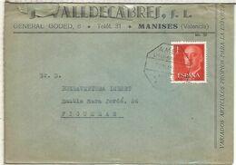 CC DESDE MANISES VALENCIA A FIGUERAS CON MAT AMBULANTE LIRIA MANISES - 1931-Heute: 2. Rep. - ... Juan Carlos I