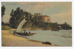 COLOMBO - Mount Lavinia Hotel And Sea Shore - Plate 17 - Galle Face Hotel Cachet - Sri Lanka (Ceylon)