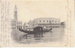 ITALIA - VENEZIA - Ediz. G. Zanetti N°44, Leggi Testo, Animata, Viag.1901 - 2020-D-33,34 - Venezia