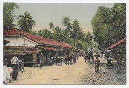 Road To Mount Lavinia  - Plate - Sri Lanka (Ceylon)