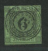 F0457 - BADEN - Mi.Nr. 3 Gestempelt, Einwandfrei (siehe Scan) - Bade