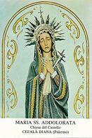 Santino/holycard: MARIA SS. ADDOLORATA - Cefalà Diana (PA)  - M - RB - Mm. 73 X 105 - Religion & Esotericism